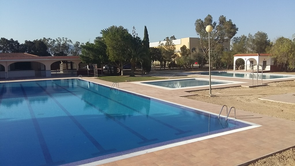 Municipal swimming pool Image